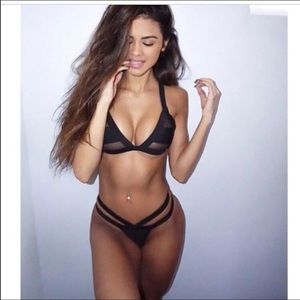 Other - sexy black bathing suit top